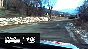Rallye Monte-Carlo 2017: Onboard with Thierry Neuville on SS05