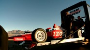 Ryan Briscoe at the IZOD Commercial Shoot
