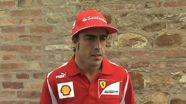 Scuderia Ferrari 2012 - Italian GP Preview - Fernando Alonso