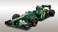 F1 launch: First look at the Caterham CT03