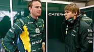 Caterham Unchained - Episode 3: Giedo answers your questions, British PM David Cameron visits