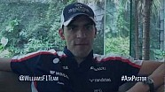 Pastor Maldonado previews the Malaysian GP by answering Twitter questions @WilliamsF1Team