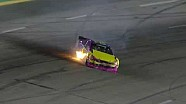 NASCAR Travis Pastrana catches fire | Kentucky (2013)