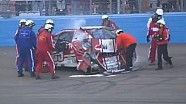 NASCAR Huge wreck for Reutimann | Phoenix International Raceway (2013)