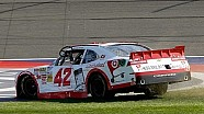 Larson wheels his way to first NNS victory