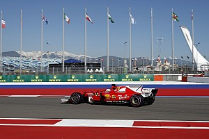 F1 Reporte de prácticas Vettel, el más rápido del viernes en Sochi y los Mercedes se esconden