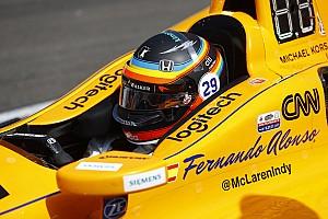 F1 in Austin: Fernando Alonso fährt mit Indy-500-Helmdesign