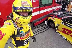 WTCC Новость «Машина была как банан». Коронель об аварии с перегрузкой 25g