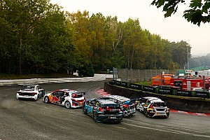 World Rallycross Breaking news Nine manufacturers involved in electric rallycross talks