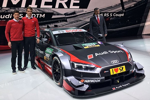 L'Audi mostra le forme della nuova RS5 Coupé DTM 2017