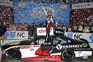 NASCAR XFINITY Race report Alex Bowman grabs his first NASCAR Xfinity Series victory at Charlotte