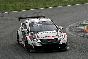 WTCC Breaking news Honda not worried by pre-season pace deficit