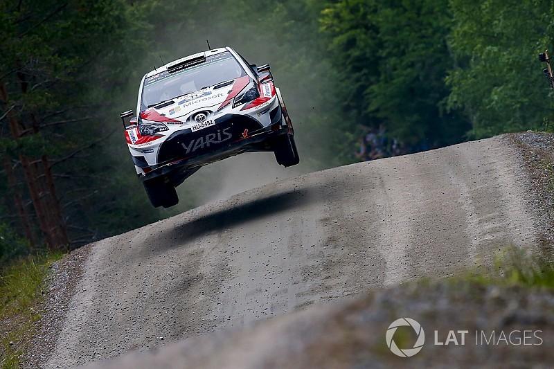 Le parcours du Rallye de Finlande sans la spéciale d'Ouninpohja