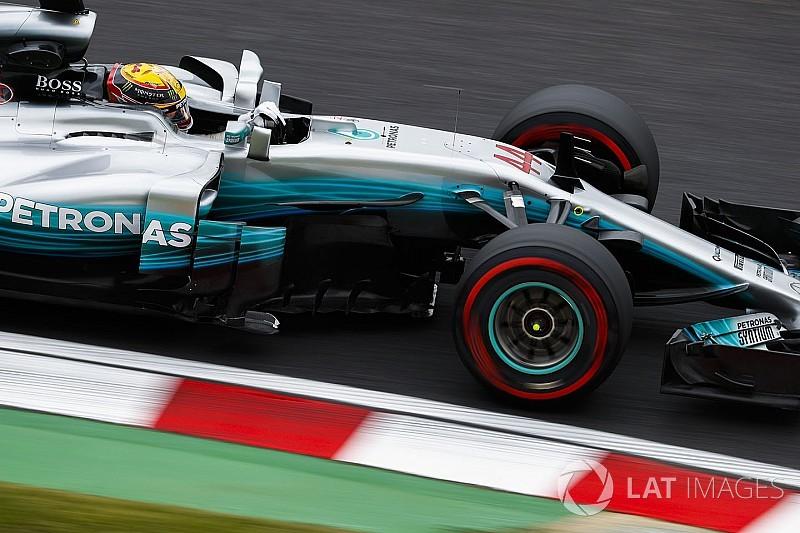 """Hamilton diz que Mercedes """"voltou ao normal"""" no Japão"""