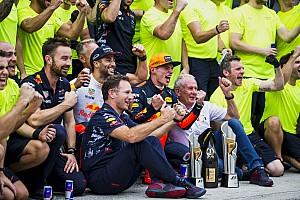 Formule 1 Nieuws Horner vindt dat Verstappen uitzonderlijk goed gereden heeft in Maleisië
