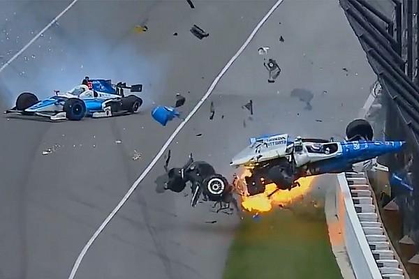 IndyCar Noticias de última hora Dixon y Howard salen indemnes de un terrible accidente en Indianápolis