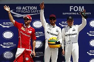 Formel 1 News Nach 65. F1-Pole: Lewis Hamilton erhält Ayrton Sennas Helm