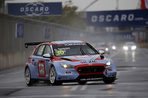 Marrakesh WTCR: Tarquini leads all-Hyundai top four