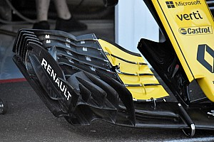 Formula 1 Breaking news Renault reveals new front wing concept