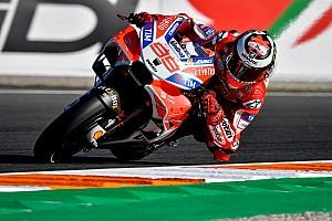 MotoGP Репортаж з практики Гран Прі Валенсії: у другій практиці найкращим став Лоренсо