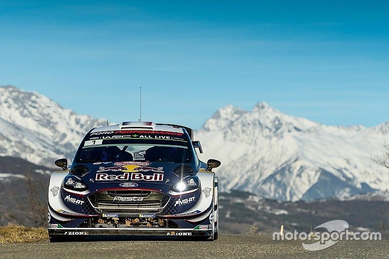 WRC Monte Carlo: Ogier aan de leiding na chaotische openingsdag