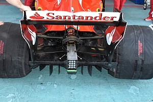 Räikkönen autóján tesztel a Ferrari 2018-as megoldásokat