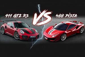 Automotive Breaking news Ferrari 488 Pista vs. Porsche 911 GT2 RS: Battle by the numbers