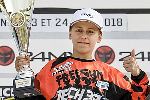 Elite MX Résumé de course Maxime Grau décroche sa première victoire en Espoirs 85cc