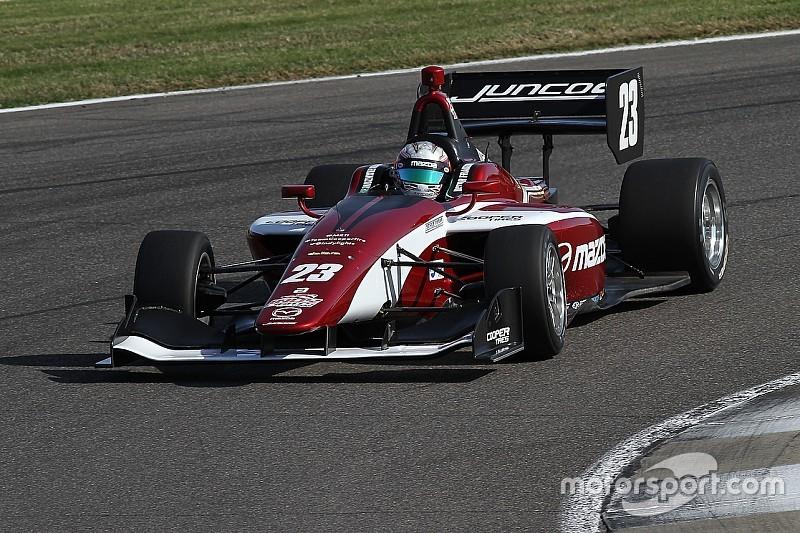 Victor Franzoni vence pela primeira vez na Indy Lights