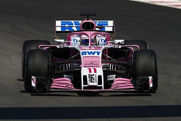 Formule 1 Actualités Pérez : La Force India requiert