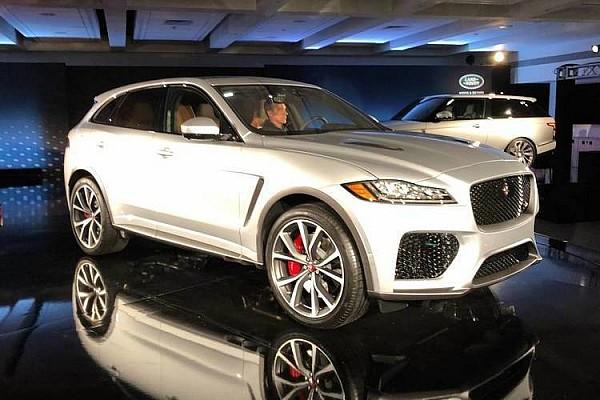 Automotivo Últimas notícias Jaguar F-Pace SVR exala esportividade com motor V8