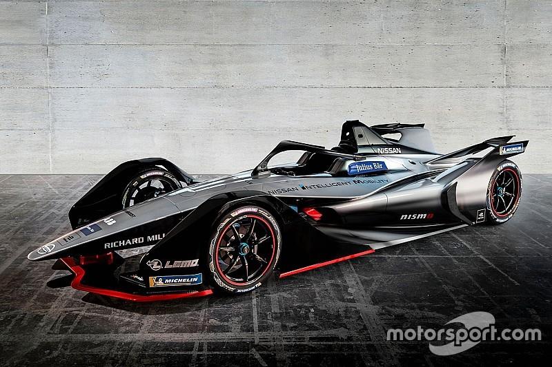 nissan unveils livery for 2018 19 formula e entry