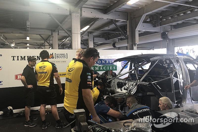 Crash sidelines Jones for 2019 Supercars opener