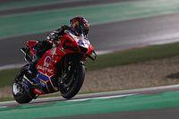 """Martín debuta con una caída en MotoGP: """"La moto me sacudió"""""""