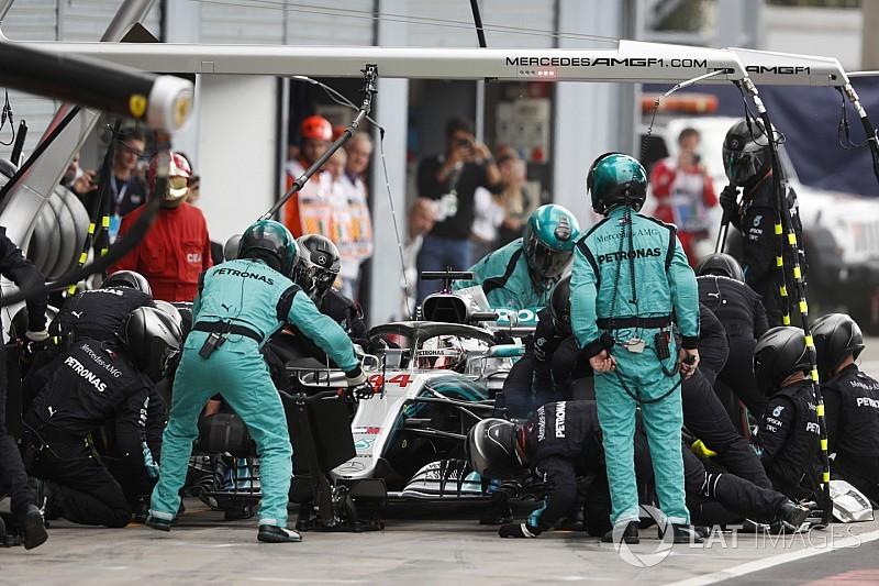 """Mercedes doet niet aan """"schijnstops"""", stelt Wolff"""