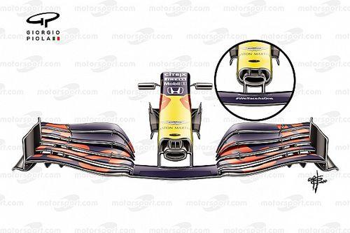 Red Bull debe definir qué nariz usará en el GP de Estiria