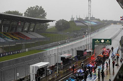 F1 bracing for Sunday qualifying as storm hits Red Bull Ring