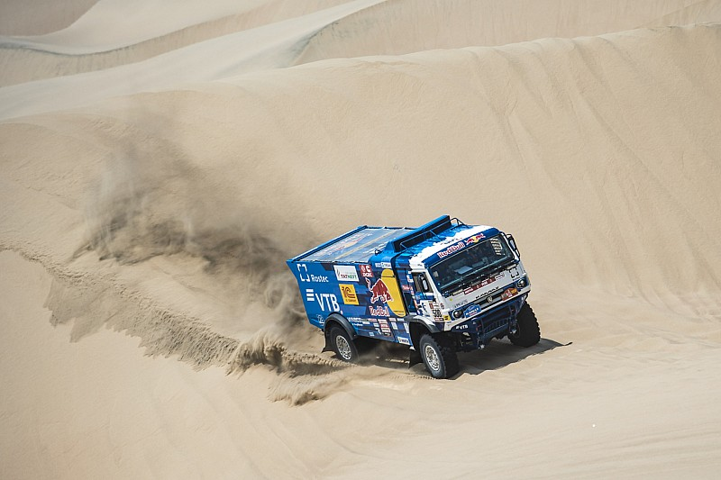 Nikolaev and Kamaz win third Dakar in a row