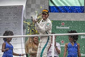 Com vitória no Brasil, Hamilton garante 50% de triunfos desde 2014