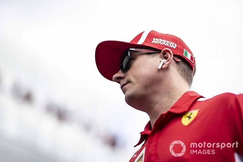 Óriási: valami csilingel, majd betoppan Räikkönen (VIDEÓ)
