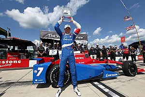 IndyCar Qualifying report Aleshin wins his first IndyCar pole