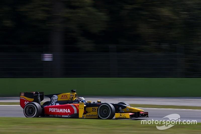 Джовинацци выиграл в Монце с предпоследнего места