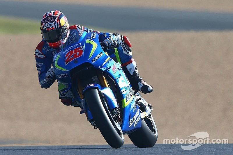 """Виньялес назвал """"недопустимым"""" отставание Suzuki от Yamaha"""