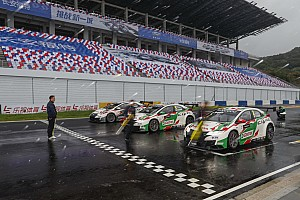 WTCC Actualités L'équipe Honda exclue des résultats de la Chine!