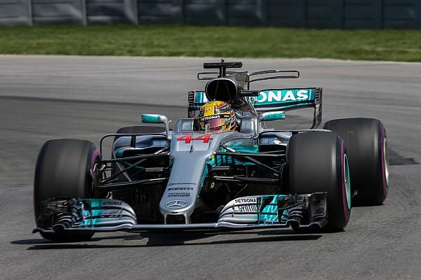 2017 Kanada GP'sinin en hızlı turu Hamilton'dan geldi