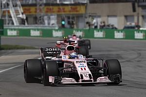 Formule 1 Actualités Pérez: Force India ne m'a pas donné l'ordre de laisser passer Ocon