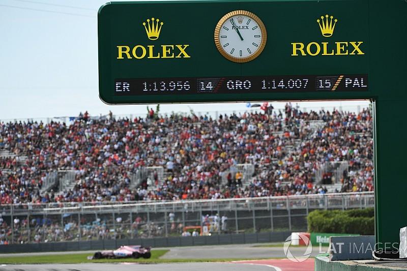 F1 anuncia los nuevos horarios para los GP de 2018