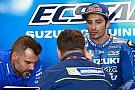 Insiden terjatuhnya Iannone di pit lane