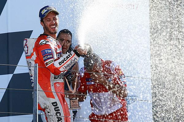 MotoGP Dovizioso se diz surpreso com vitória em Silverstone