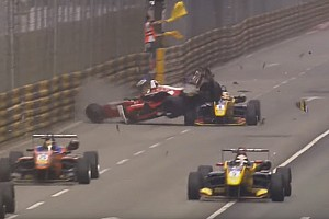 Formula 1 Breaking news Macau crash used in F1 Halo presentation